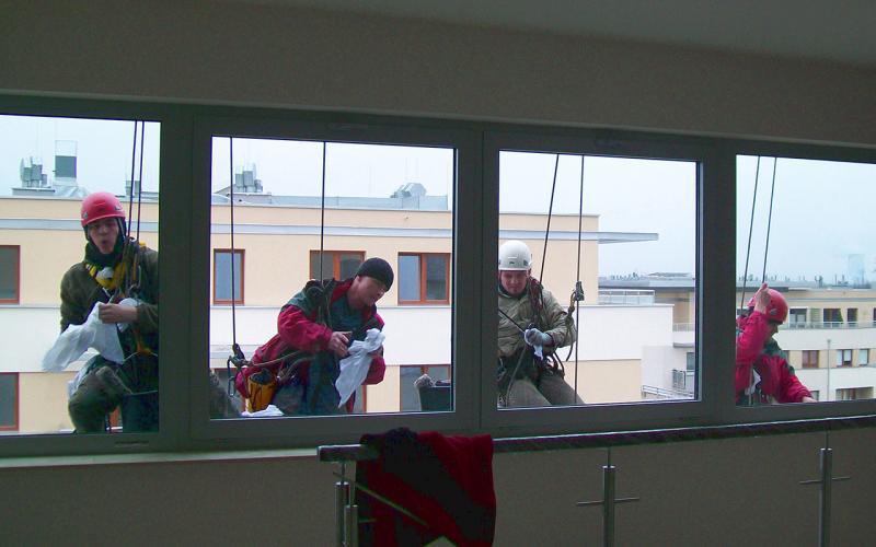 Szybkie mycie okien